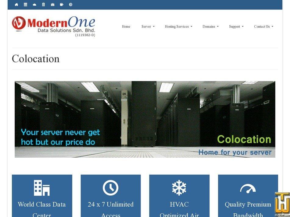 Screenshot of Multiple Server Half Rack (20U) from nocser.net