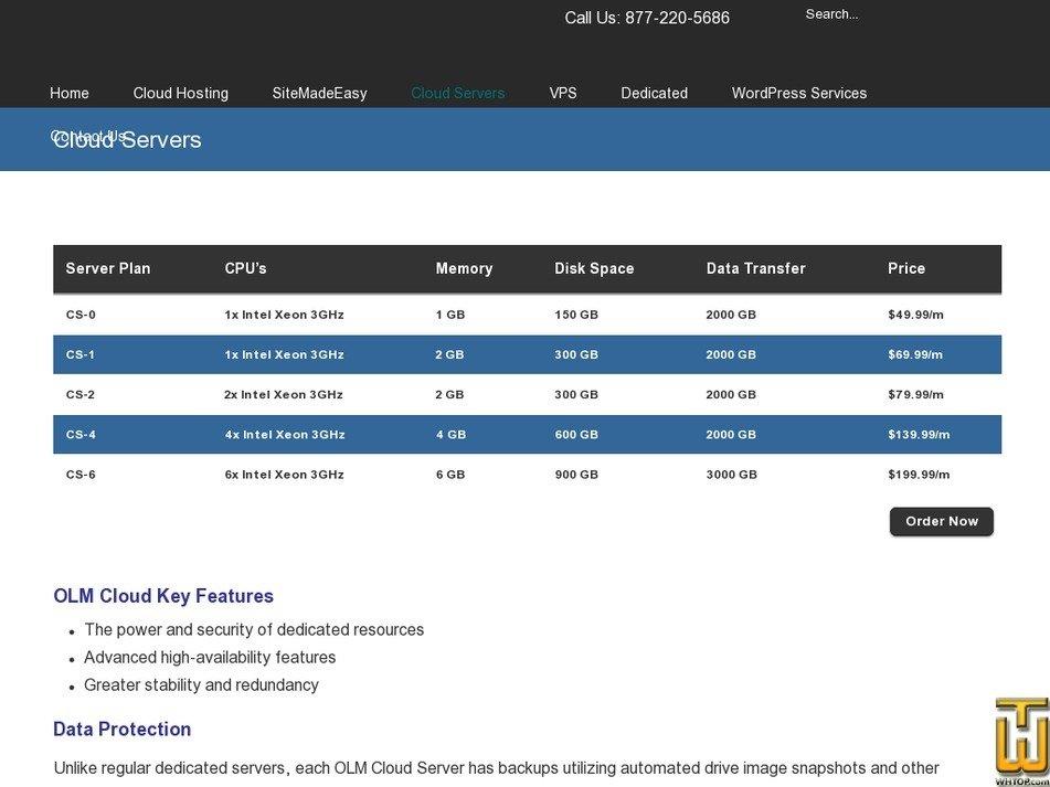 Screenshot of CS-4 from olm.net