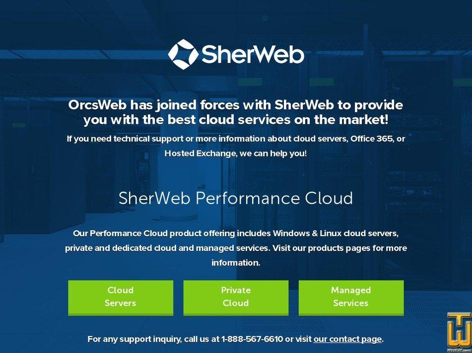 Screenshot of Platinum Shared Hosting from orcsweb.com