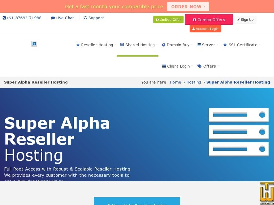 alpha reseller hosting cheap