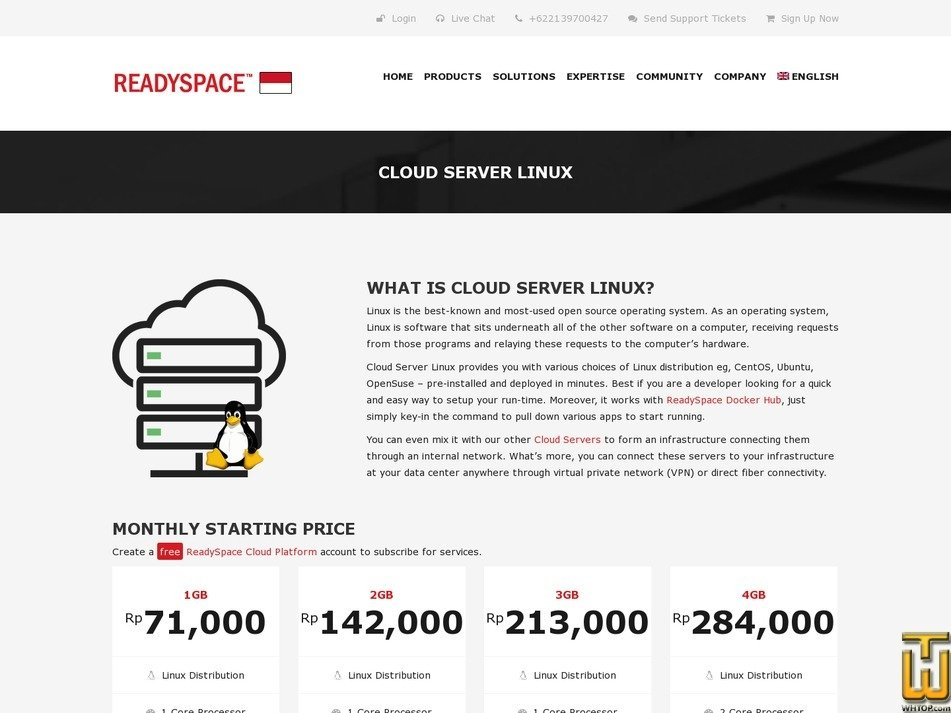Cloud Server 4GB