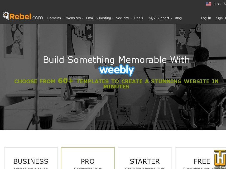 Screenshot of Starter from rebel.com