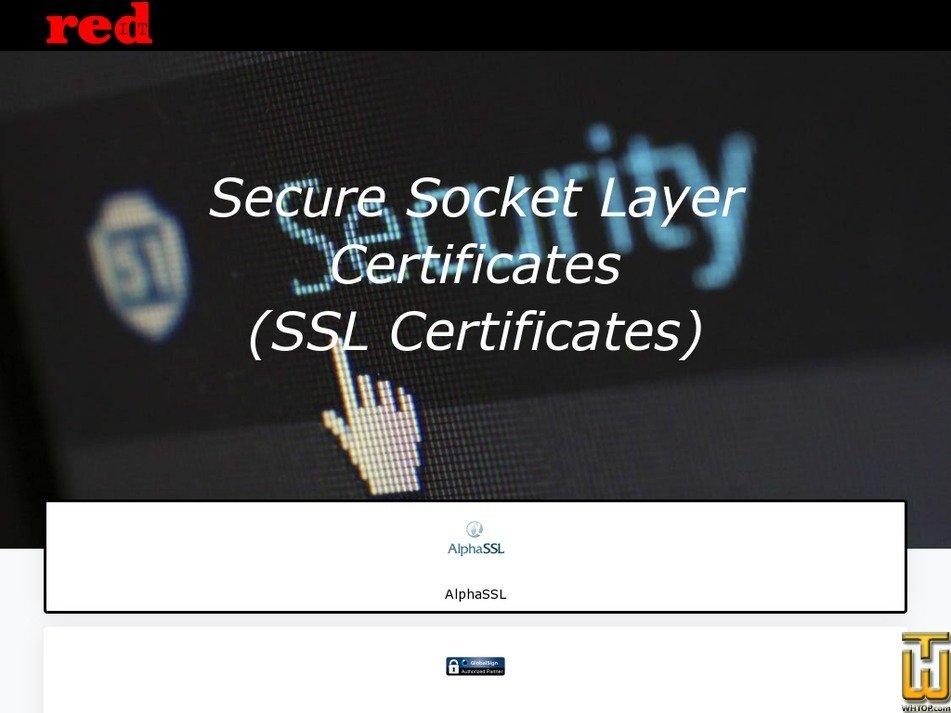 Alphassl Domain Ssl Certificate Redit 62042