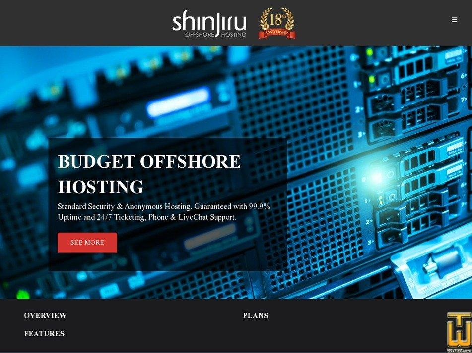 Screenshot of MALAYSIA LINUX SUPERIOR PLAN from shinjiru.com