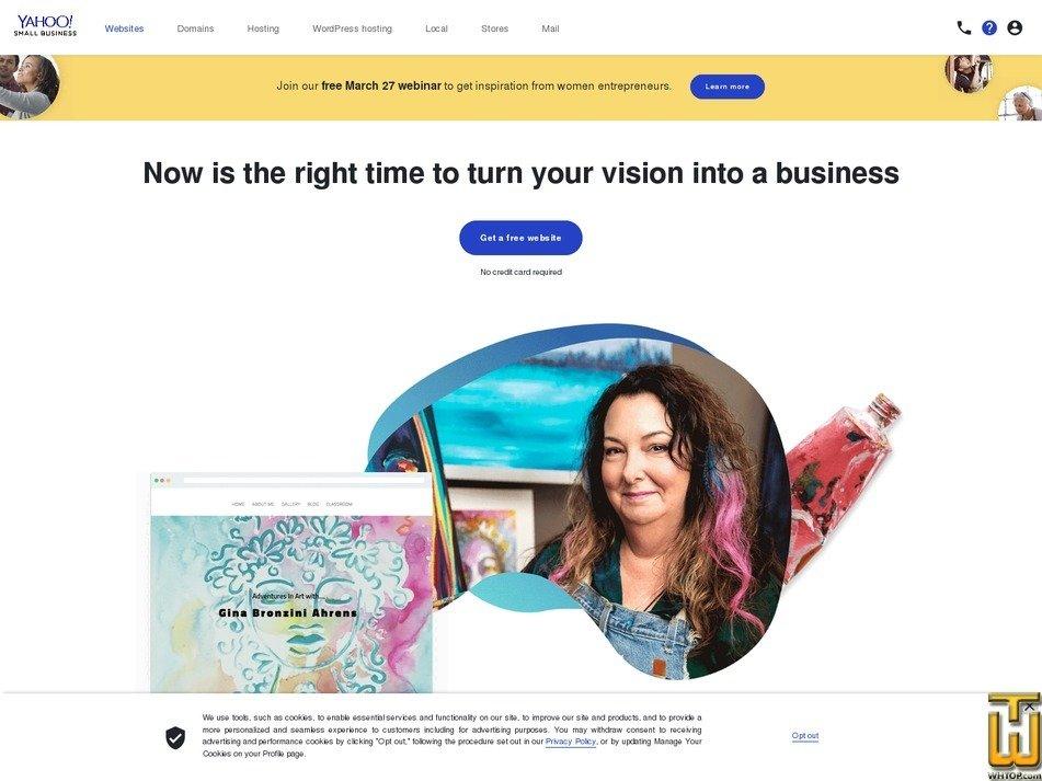 Screenshot of Professional from smallbusiness.yahoo.com