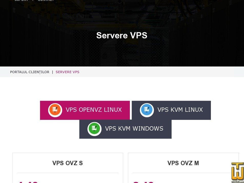 Screenshot of VPS OVZ XL from speedhub.eu