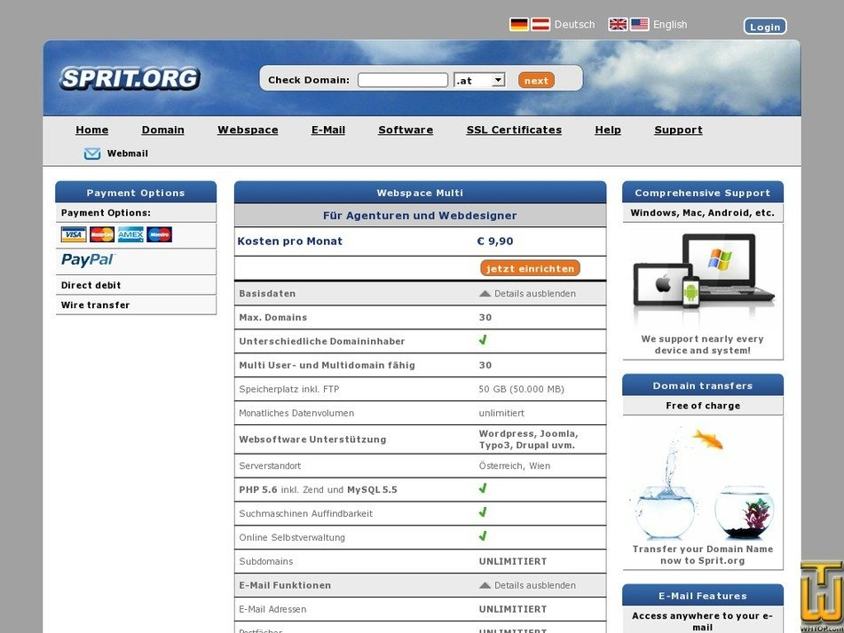 Screenshot of Multi from sprit.org