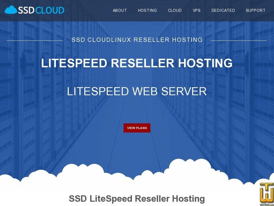 Screenshot of Beginner Reseller Hosting from ssdcloudservers.com