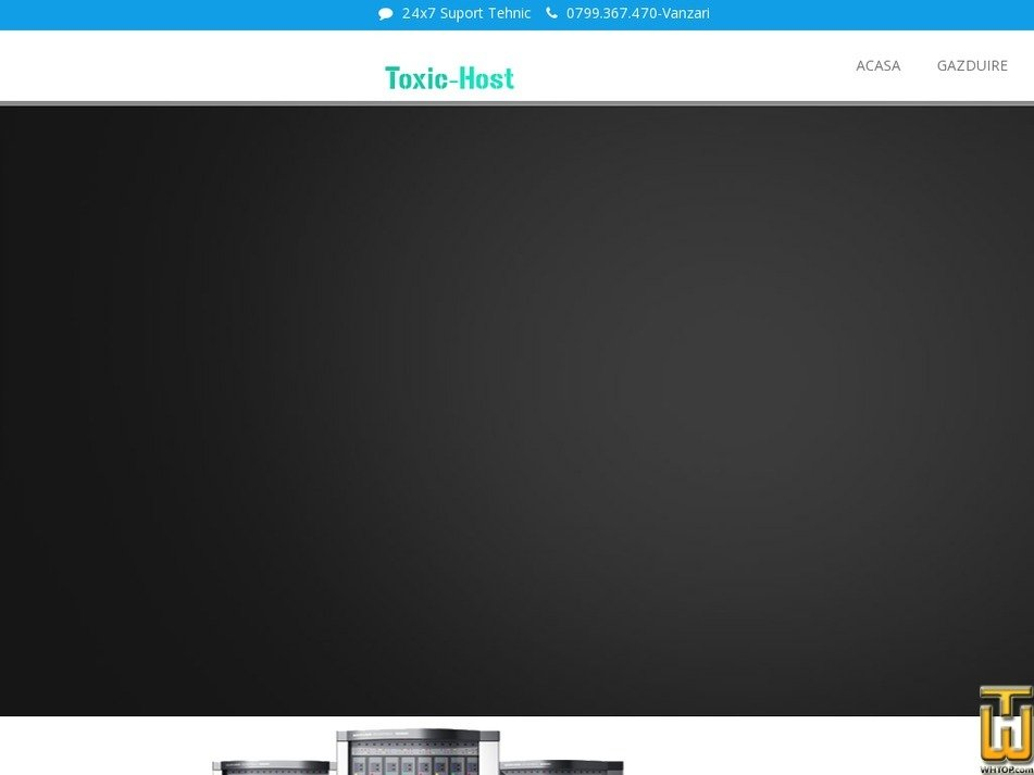 Screenshot of Basic from toxic-host.ro