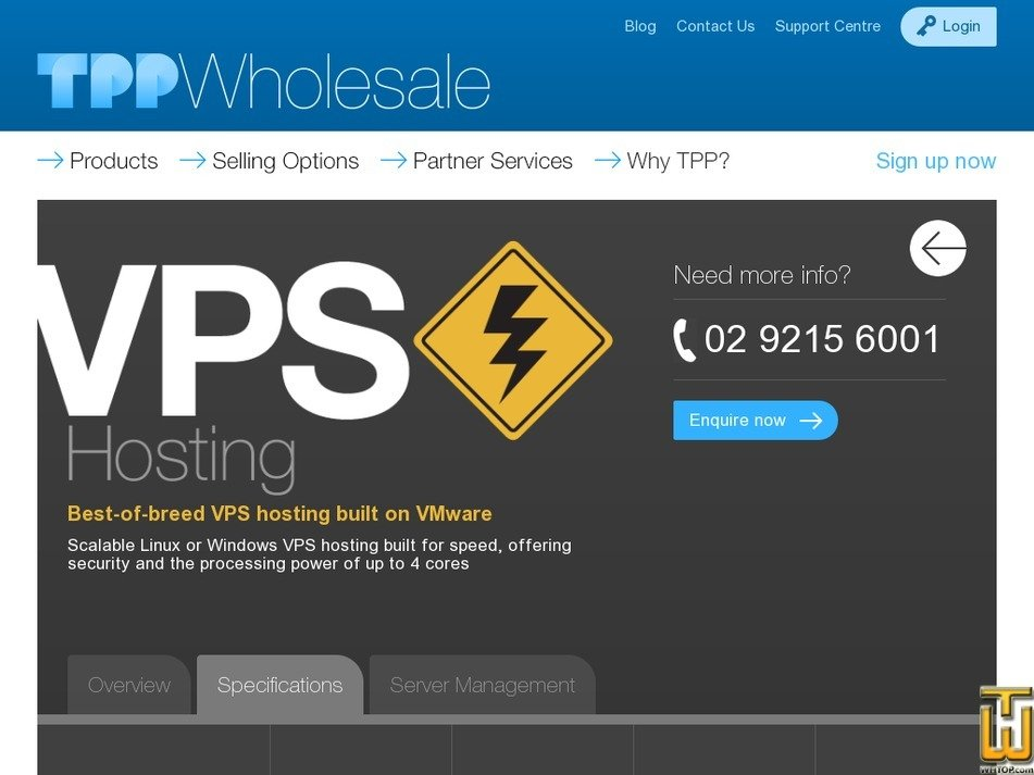 screenshot of VPS Cloud 4 from tppwholesale.com.au