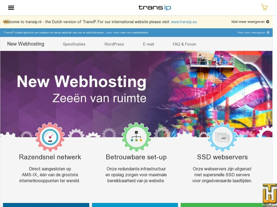 email only > transip.nl, eur 2.00/mo. on emails, linux