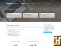 screenshot di Enterprise cloud hosting Piano