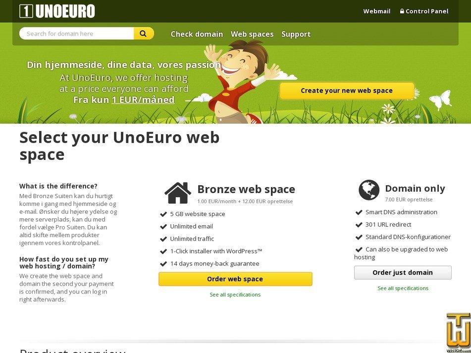 Screenshot of Bronze Suite from unoeuro.com
