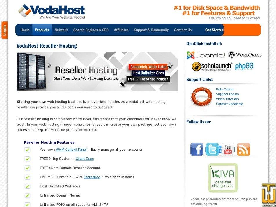 Screenshot of Silver from vodahost.com