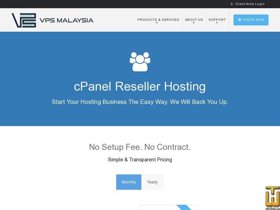 Screenshot of STARTER from vpsmalaysia.com.my
