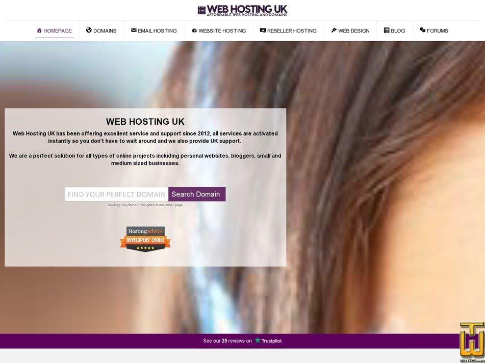 screenshot of DA10 from web-hosting-uk.com