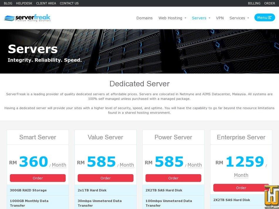 screenshot of Smart Server from web-hosting.net.my