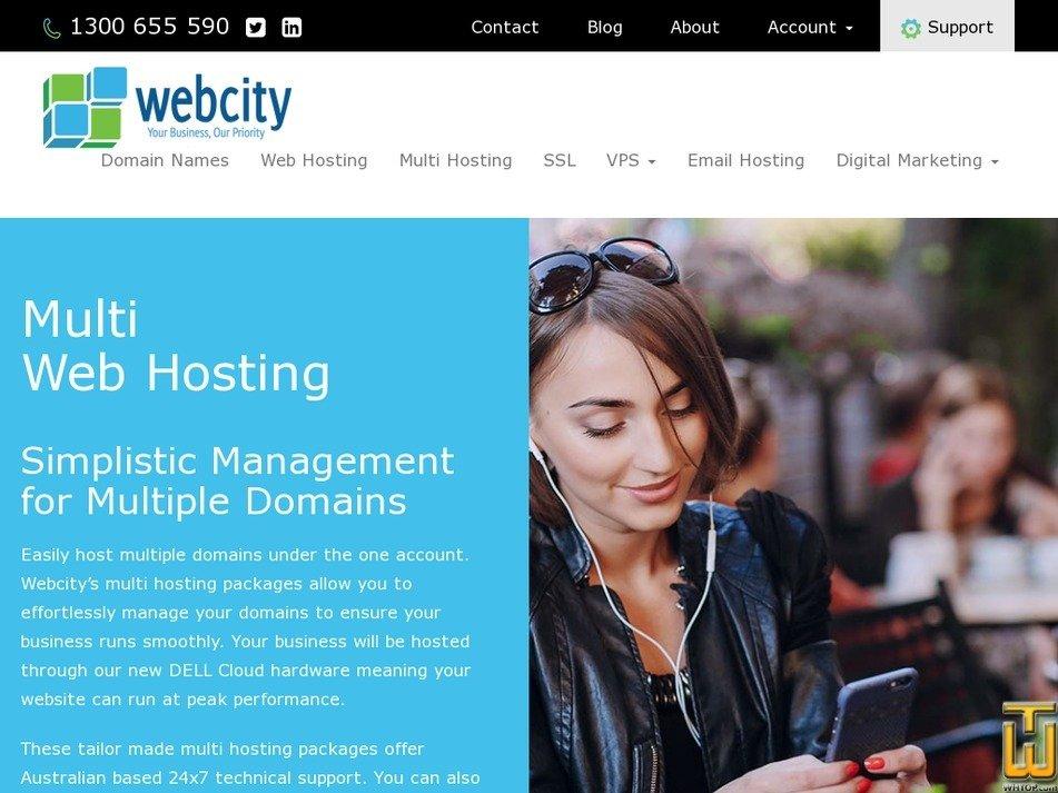 Screenshot of Multi Plus from webcity.com.au