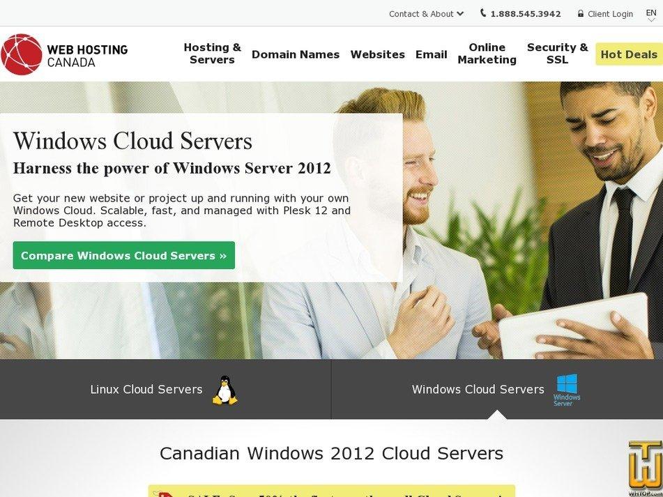 Screenshot of ENTERPRISE from whc.ca
