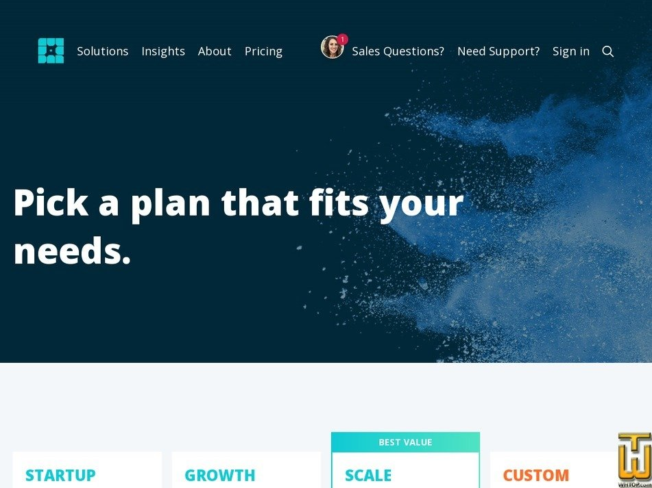 screenshot of Startup from wpengine.com