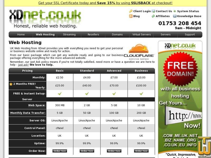 Screenshot of XDnet - Business from xdnet.co.uk