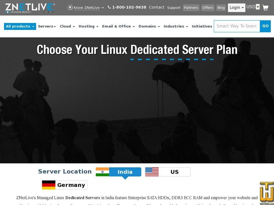 Screenshot of Zoom1 from znetlive.com