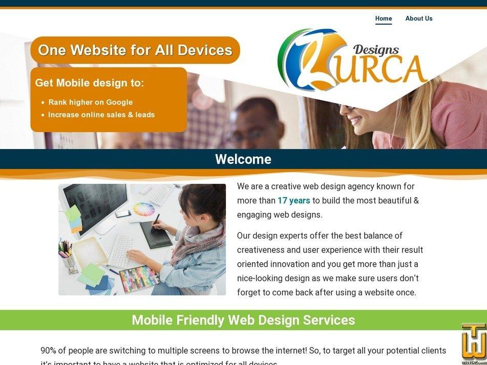screenshot of Business from zurca.com